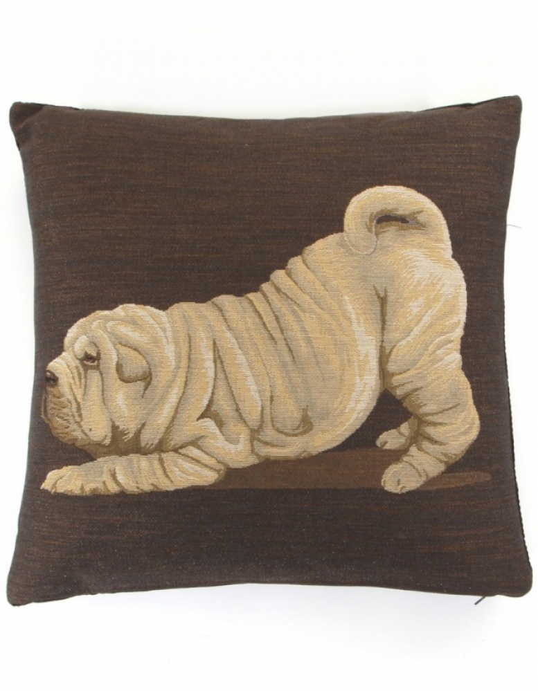 fs home collections shar pei cushion available at jules b. Black Bedroom Furniture Sets. Home Design Ideas