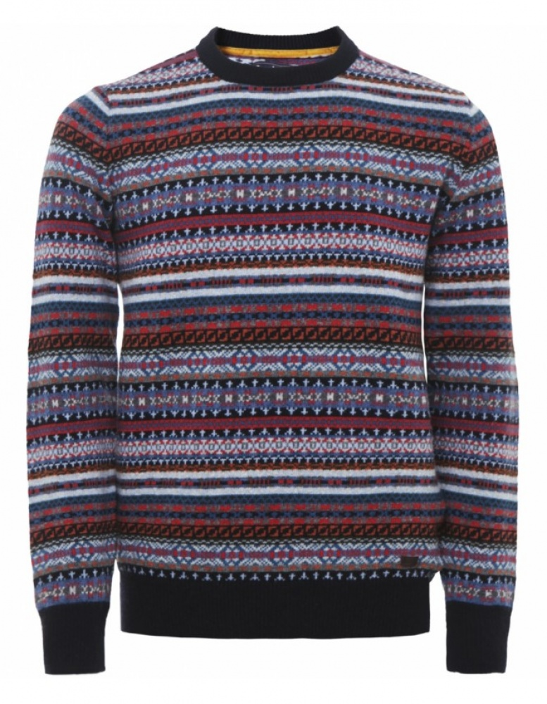 Men's Barbour Martingale Fair Isle Sweater available at Jules B