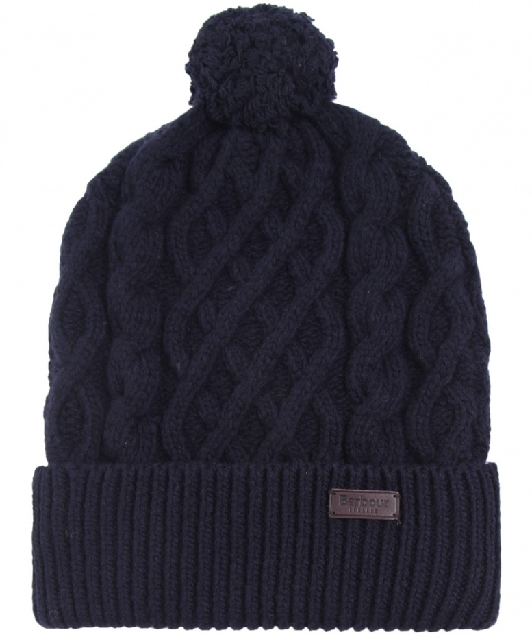 c0496b767e4 Barbour Cable Knit Beanie Hat available at Jules B