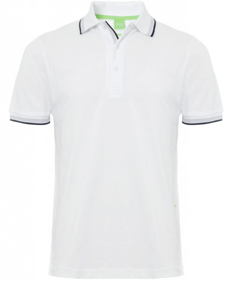 d5cff2391 Hugo Boss White Paddy Polo Shirt | Jules B
