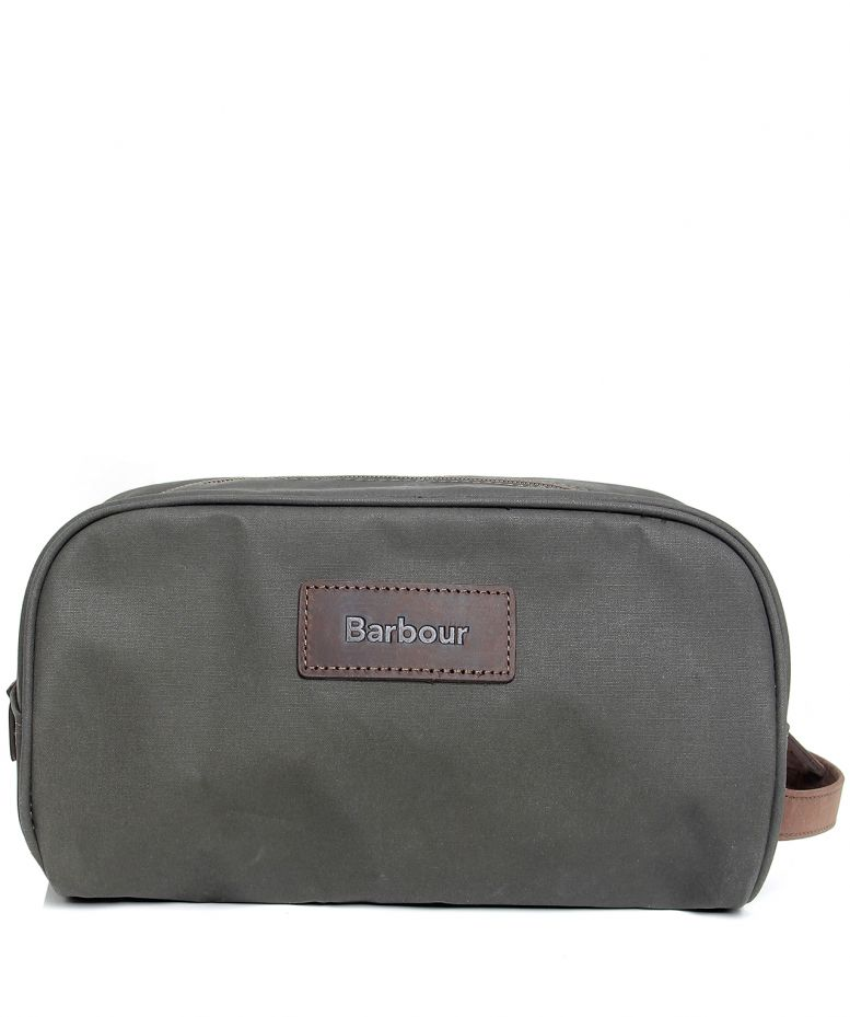 2a3188725b Barbour Dry Wax Wash Bag available at Jules B
