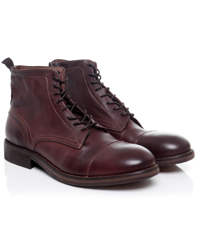 H by Hudson Brown Drum Dyed Palmer Boots available at Jules B b459e15ac