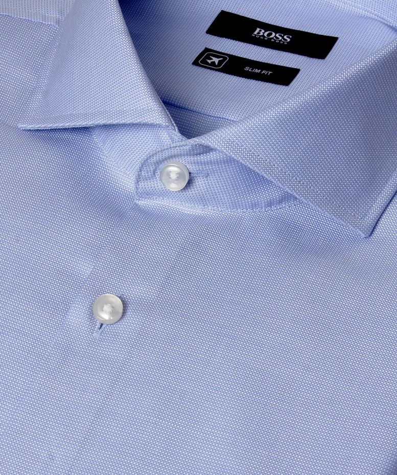 Hugo boss slim fit white dress shirt