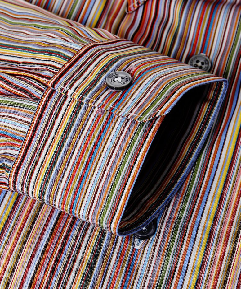 Exceptionnel Paul Smith London Tailored Fit Signature Striped Shirt available  LB59