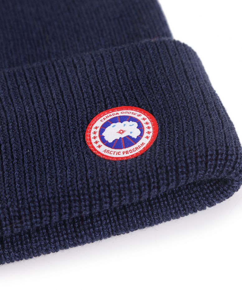 f7d0ae204bfc8 Canada Goose Merino Wool Watch Beanie Hat available at Jules B