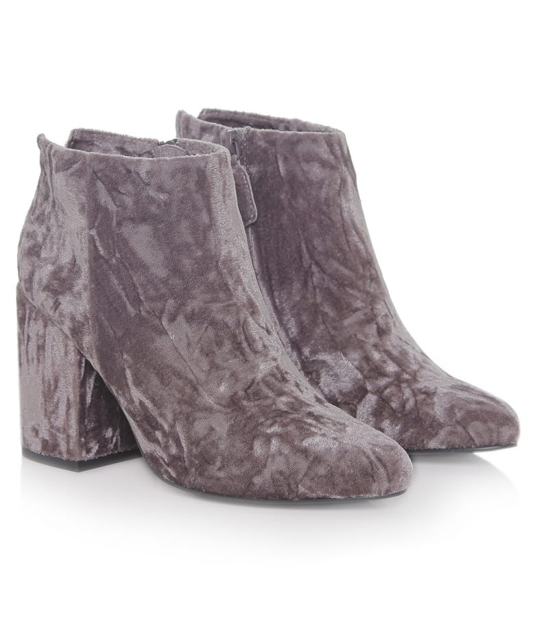 5f19861123b4 Senso Cement Jaclyn Crushed Velvet Ankle Boots