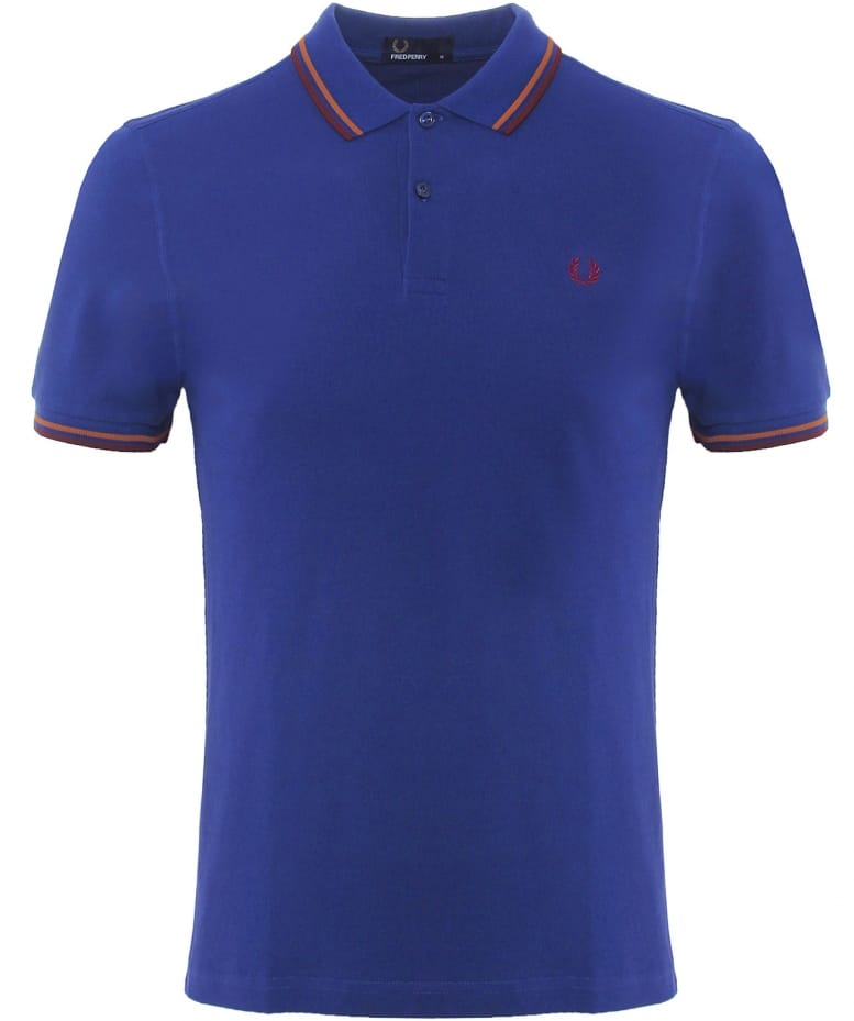 c5b9f611 Fred Perry Slim Fit Twin Tipped Polo Shirt | Jules B