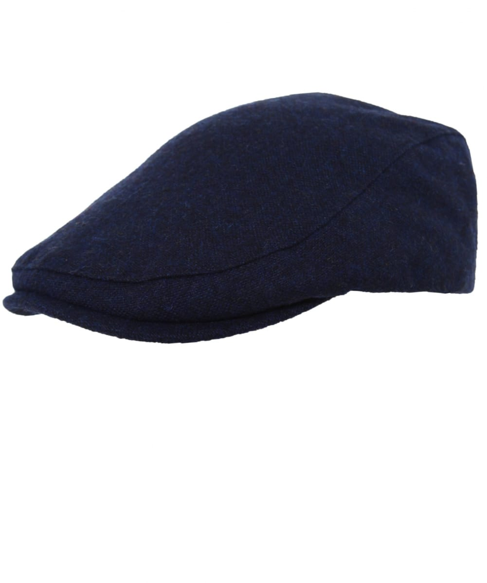 47471f3331b Fred Perry Navy Boiled Wool Flat Cap