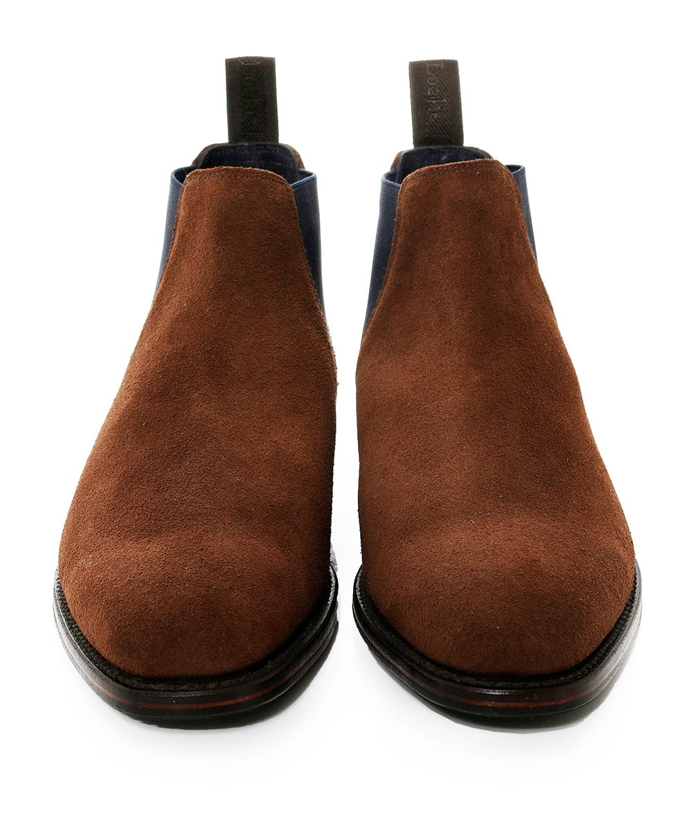 861d25636bd Loake Suede Caine Low Chelsea Boots