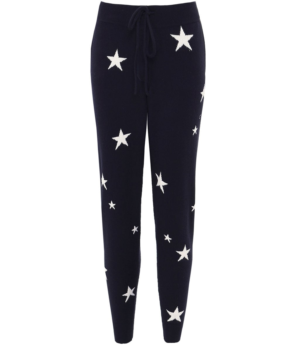 c0adc7e15b Chinti   Parker Navy Cashmere Star Joggers