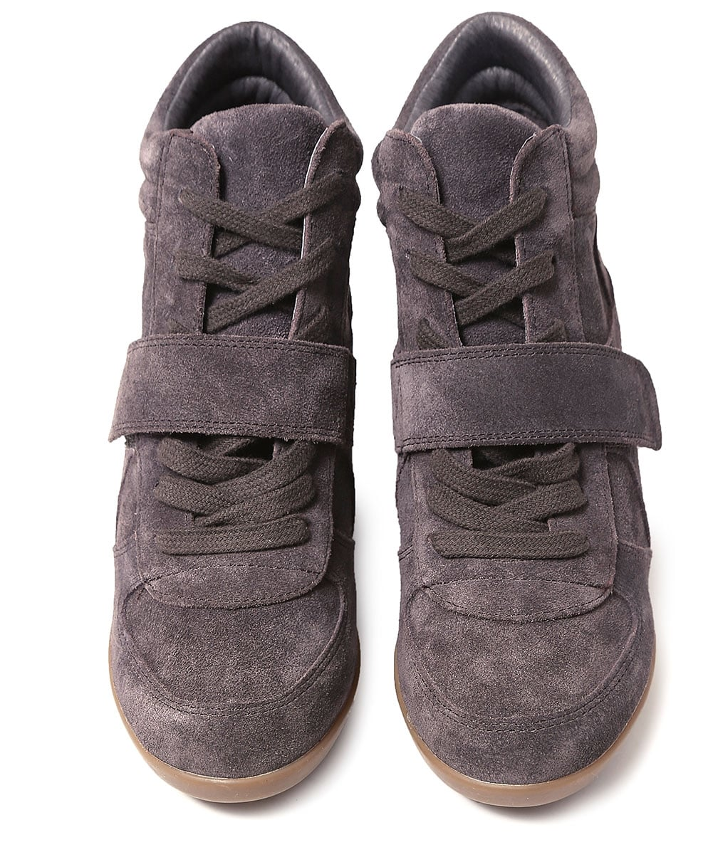 03e74ff58b3 Ash Suede Bowie High Top Wedge Trainers