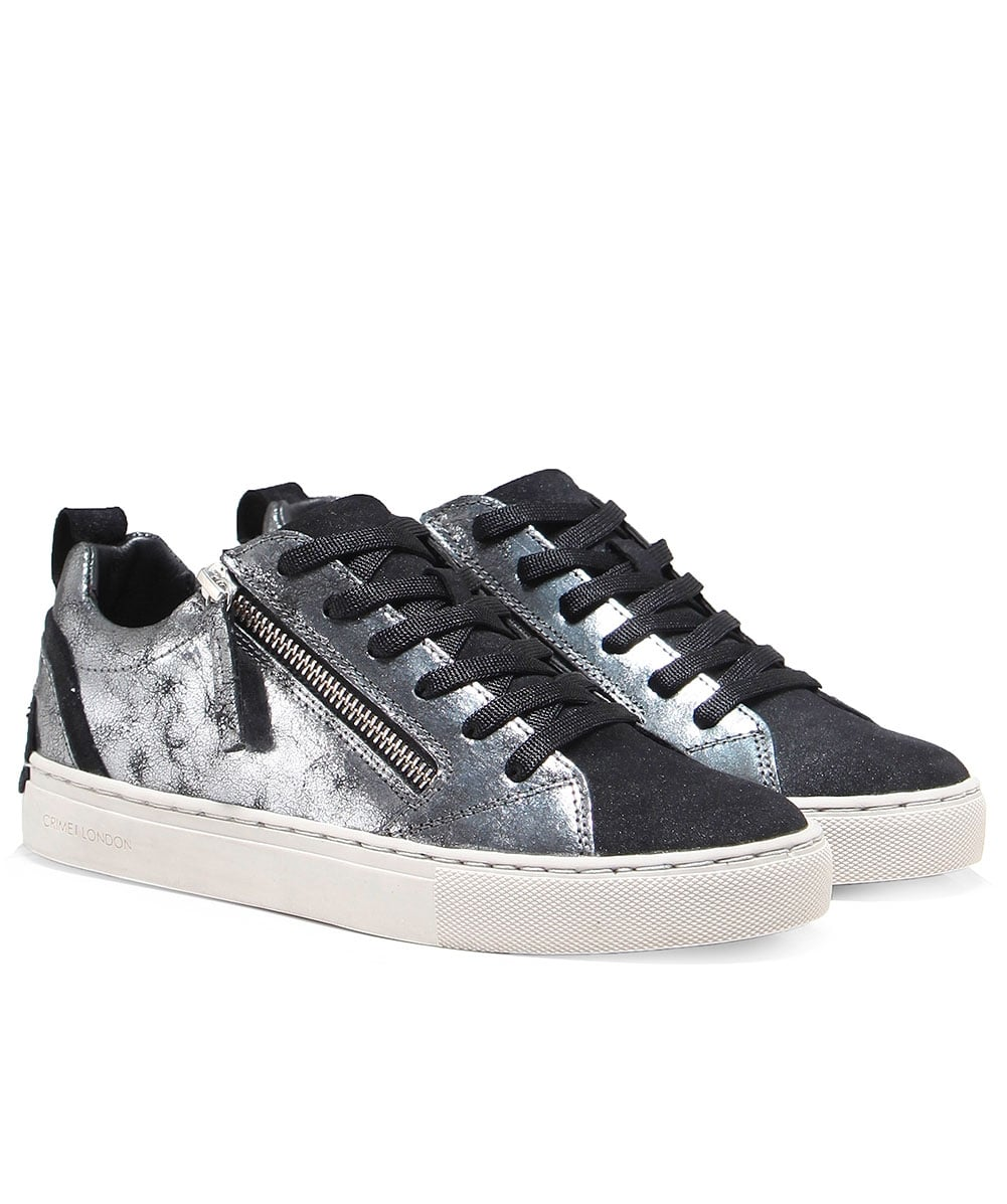 555cd4be88a2d Crime London Java Low Top Trainers