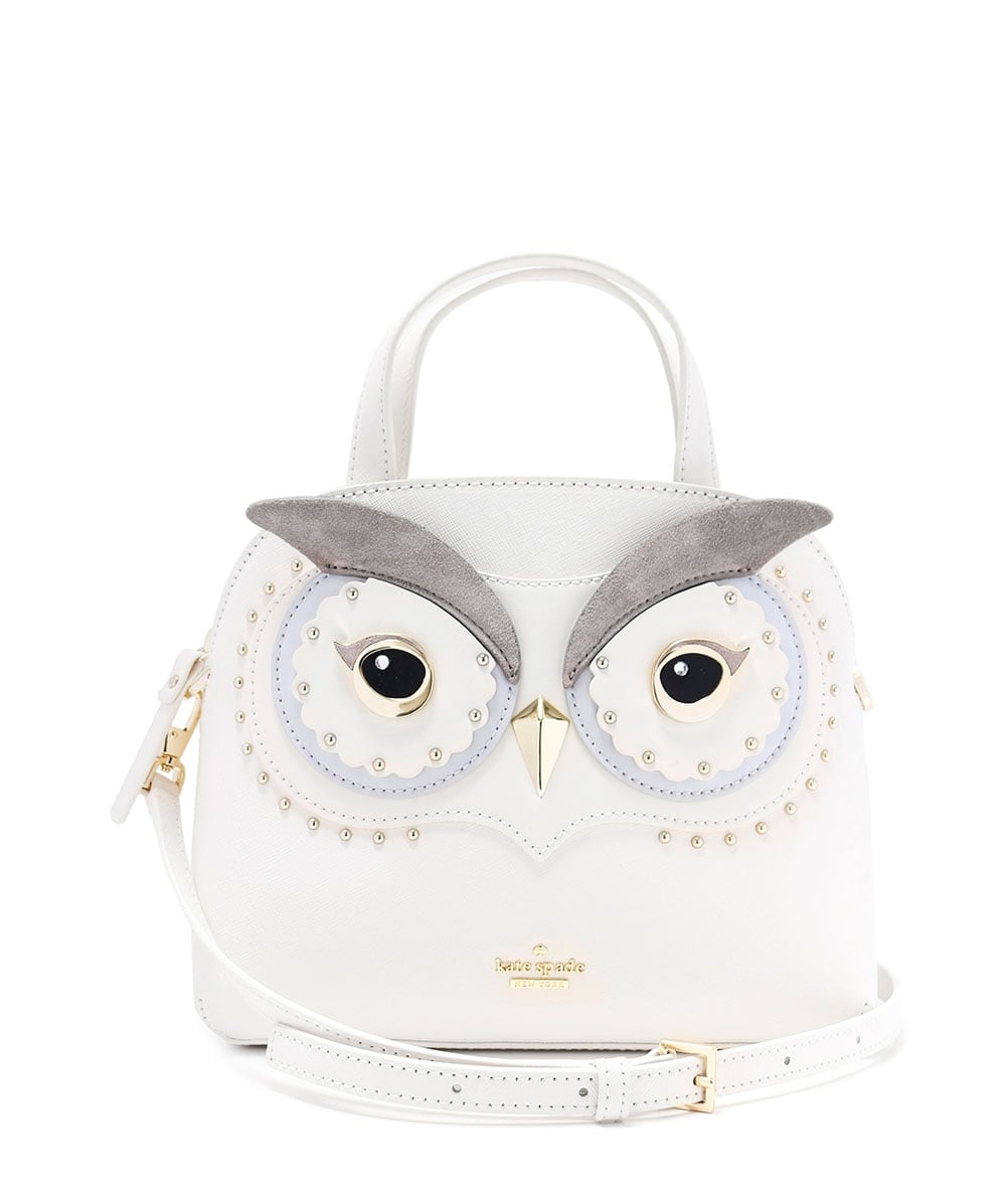 2e8372818b420 Kate Spade New York Leather Star Bright Owl Lottie Bag