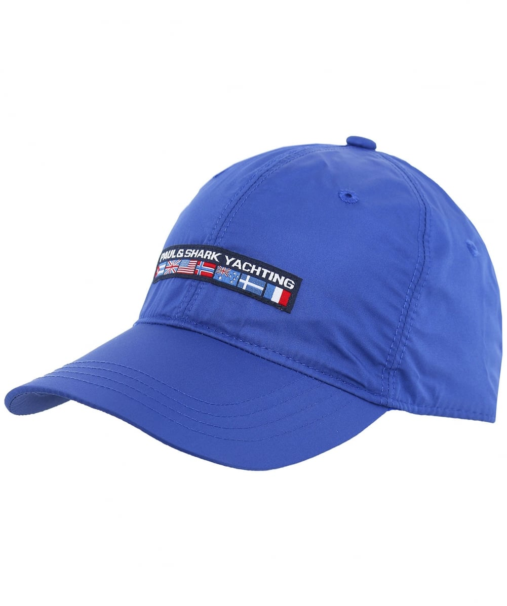 3b41043b783 Paul   Shark Woven Logo Flag Cap