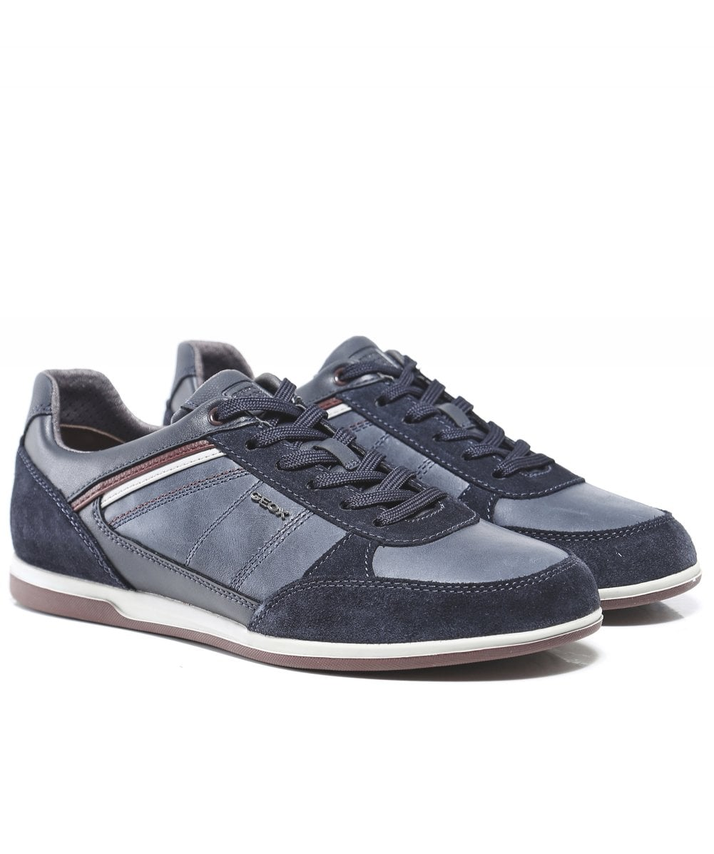 e4d2c65ad31 Geox Waxed Leather Renan B Trainers   Jules B