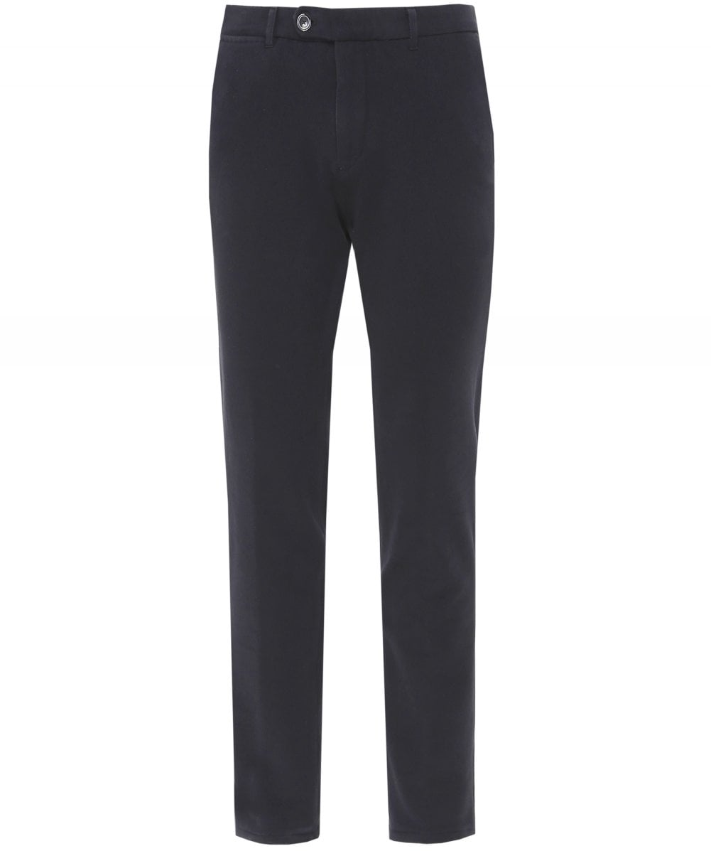 1d1e5143 Circolo 1901 Black Slim Fit Jersey Cotton Trousers | Jules B