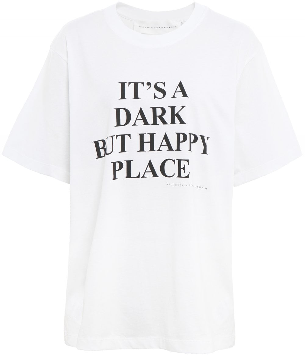 new concept 10543 54bec Dark But Happy Place T-Shirt