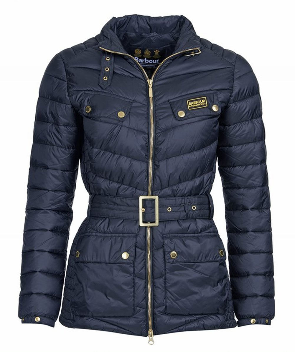barbour gleann quilted jacket