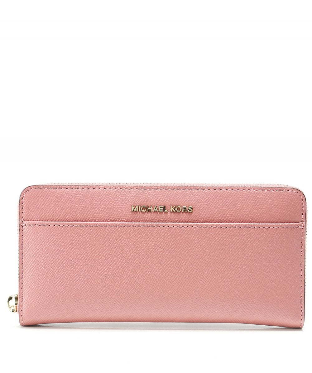 d13bb65b7508 Michael Kors Pink Saffiano Leather Continental Purse | Jules B