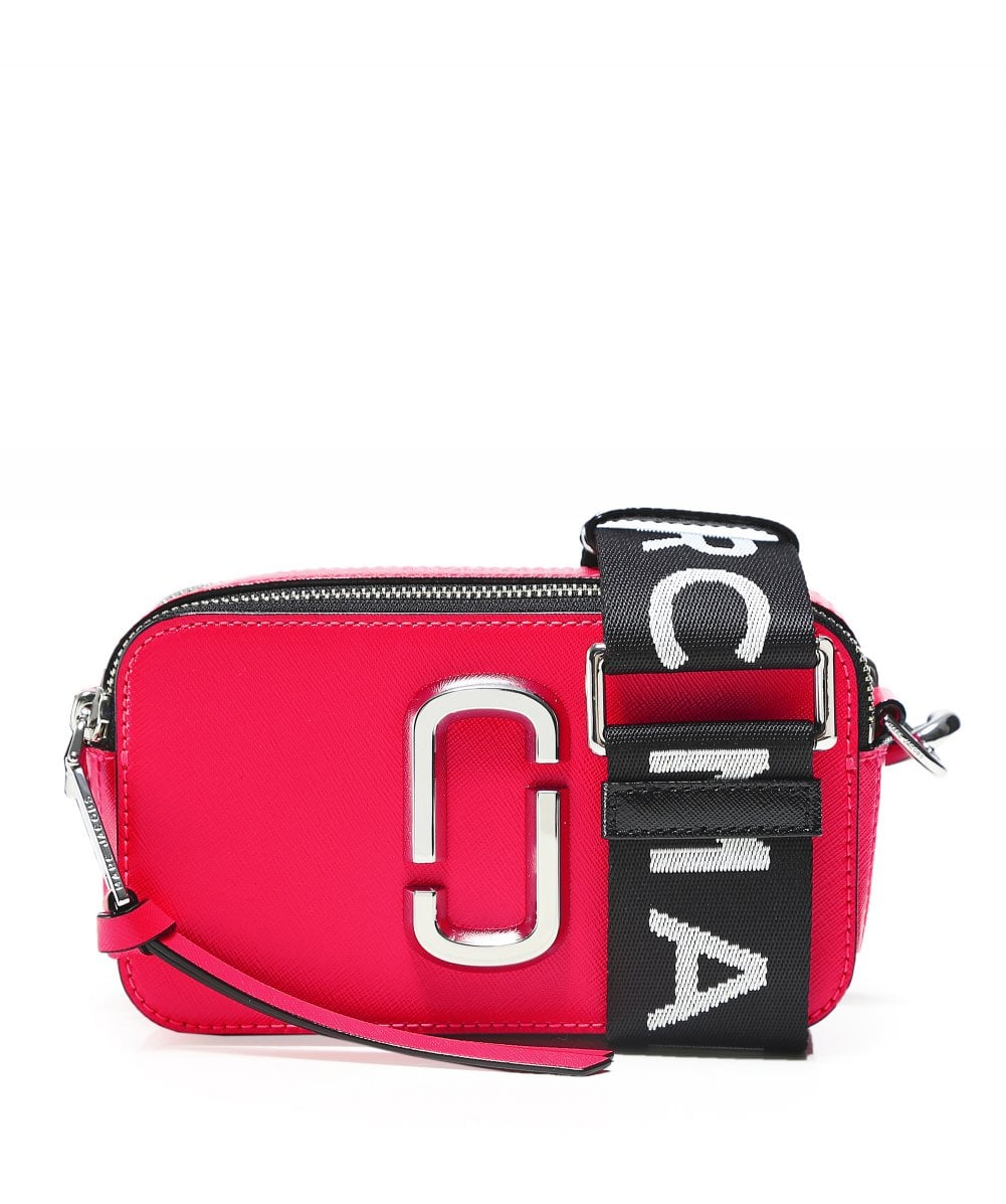 c4470074fcd8 Marc Jacobs Pink Small Fluorescent Snapshot Camera Bag