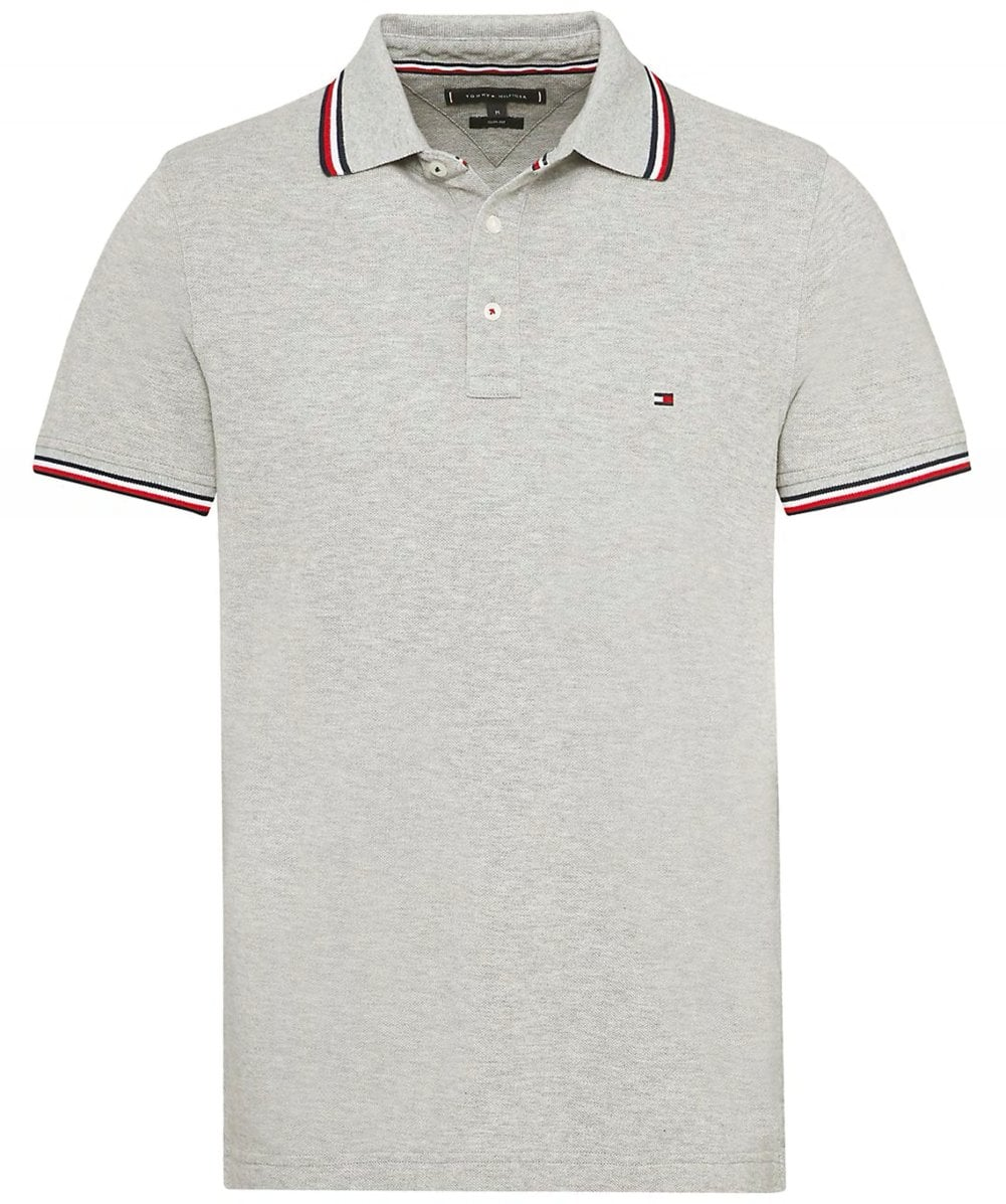 acc47460 Tommy Hilfiger Slim Fit Tommy Tipped Polo Shirt | Jules B