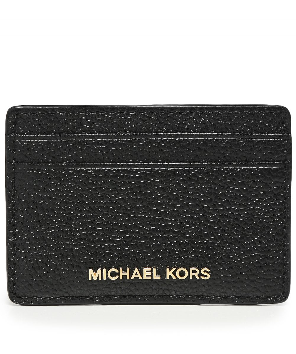 5fb192c3f53f MICHAEL Michael Kors Pebbled Leather Card Case | Jules B
