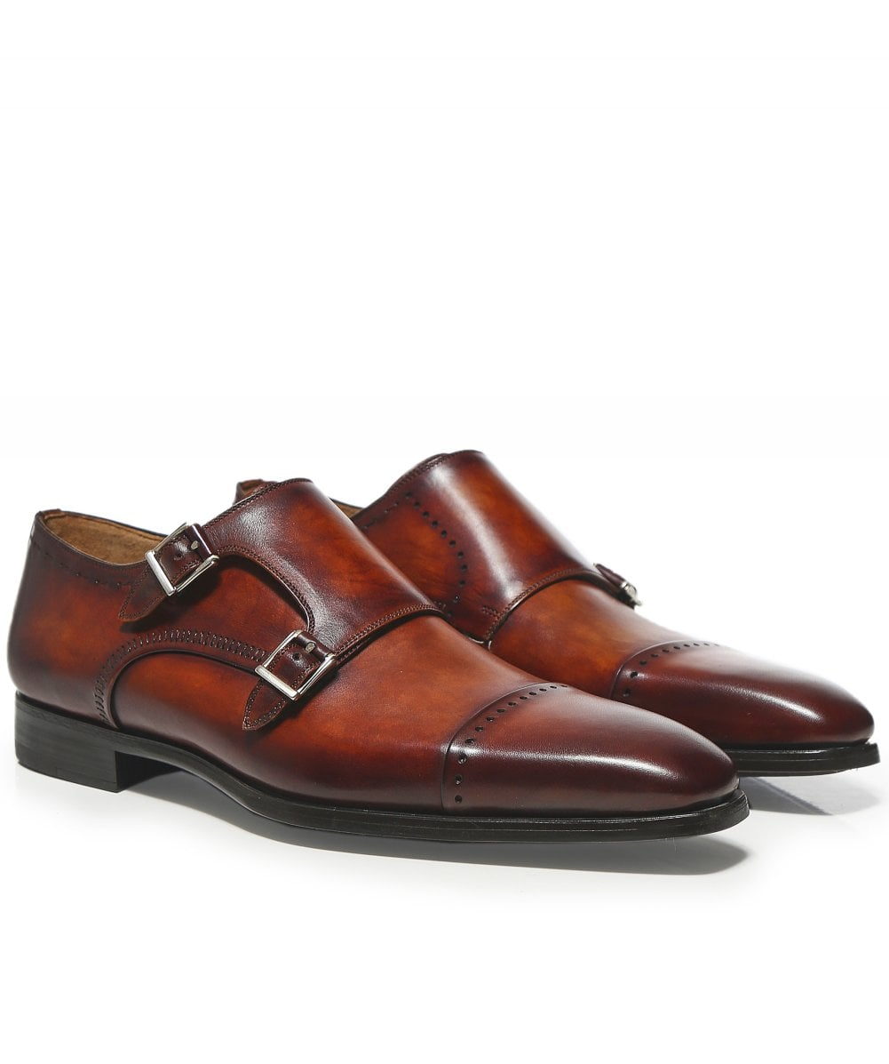 c5172572168 Leather Double Monk Strap Thunder Shoes