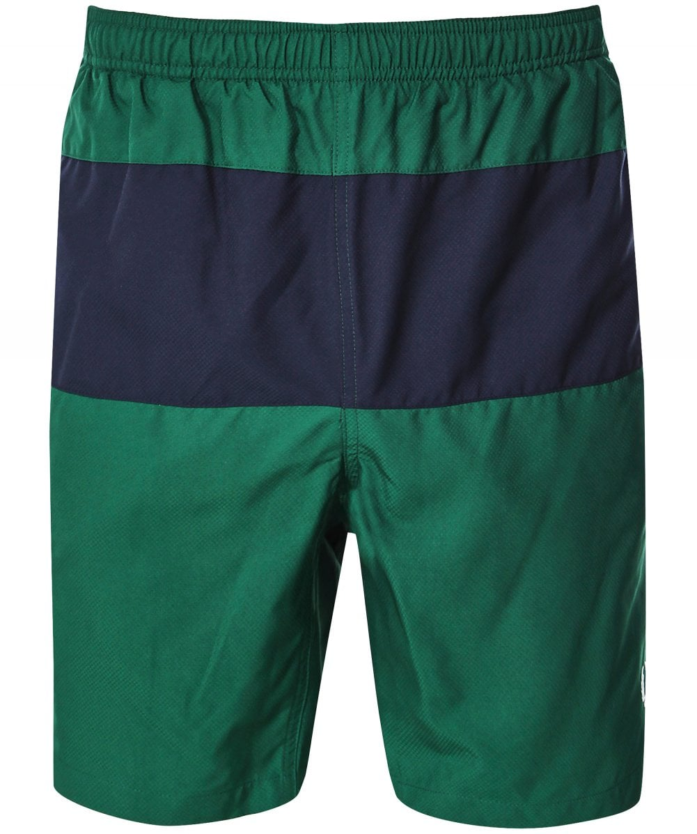 d8c66e9088 Fred Perry Green Panelled Swim Shorts S3501 426 | Jules B