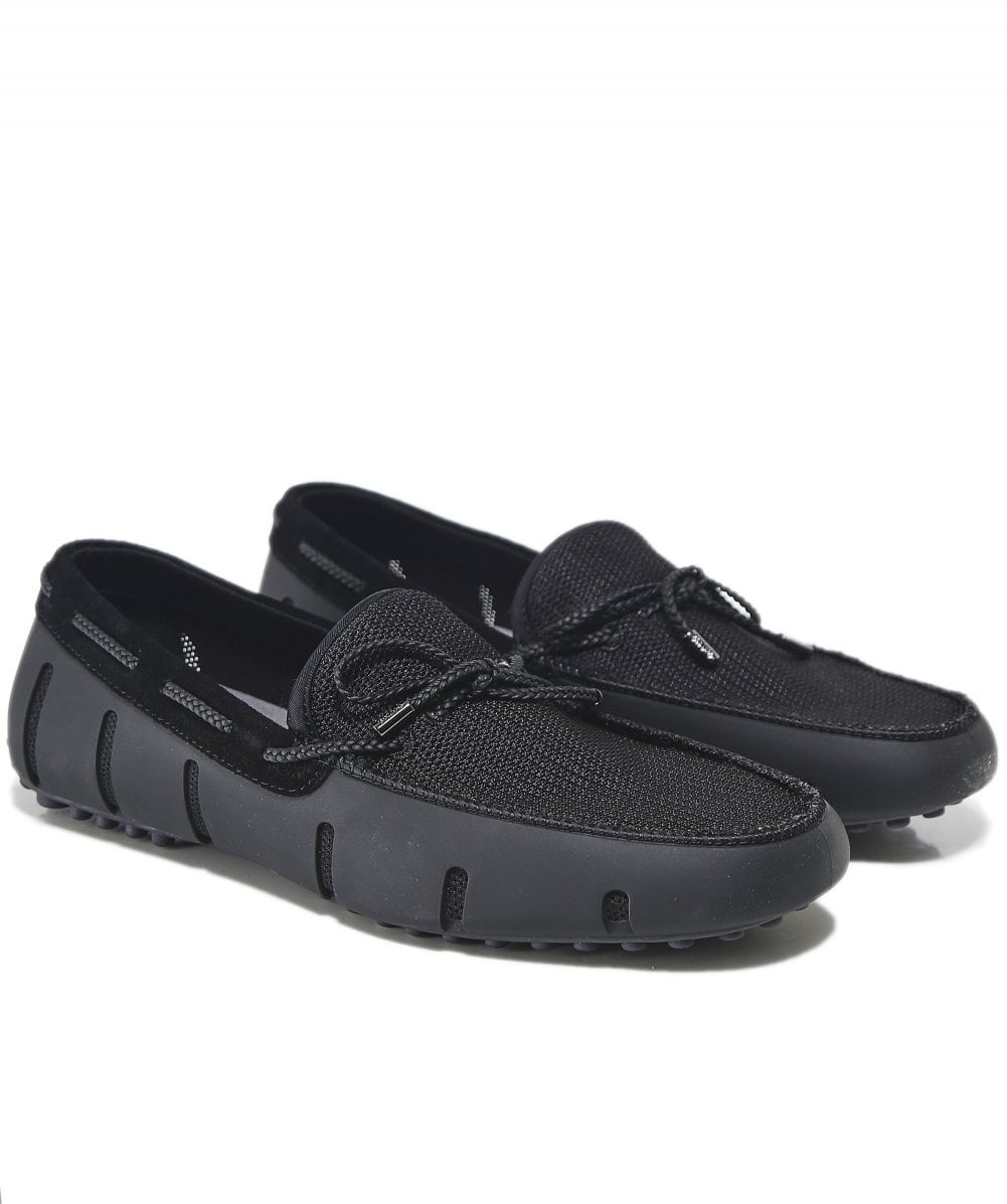 fc5c95c2619 Swims Braided Lace Lux Loafers