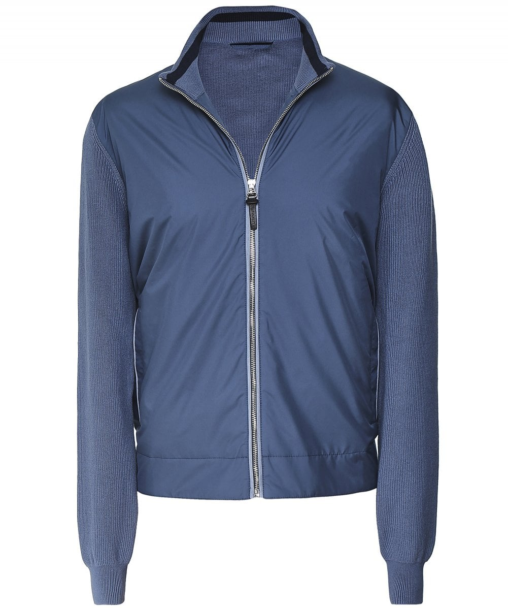 great discount for super specials innovative design Padded Knitted Bomber Jacket