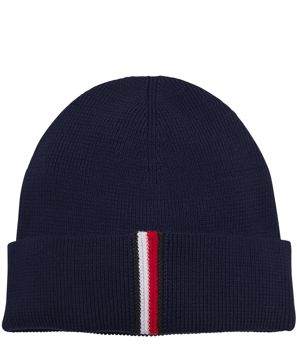 642225d91 Cotton Ribbed Beanie Hat