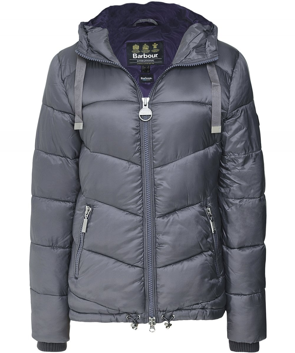 barbour international puffer jacket