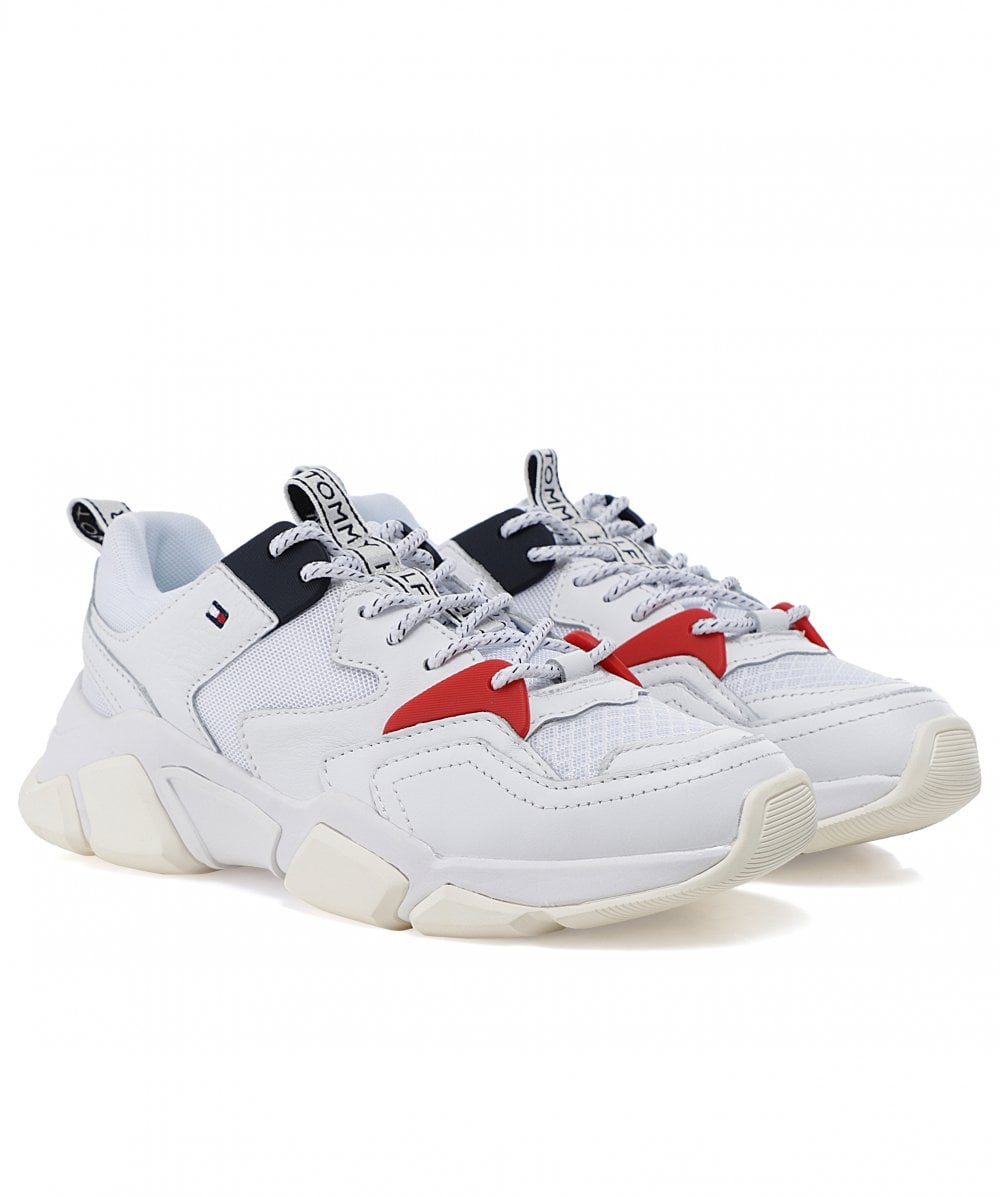 Tommy Hilfiger White Chunky Mixed