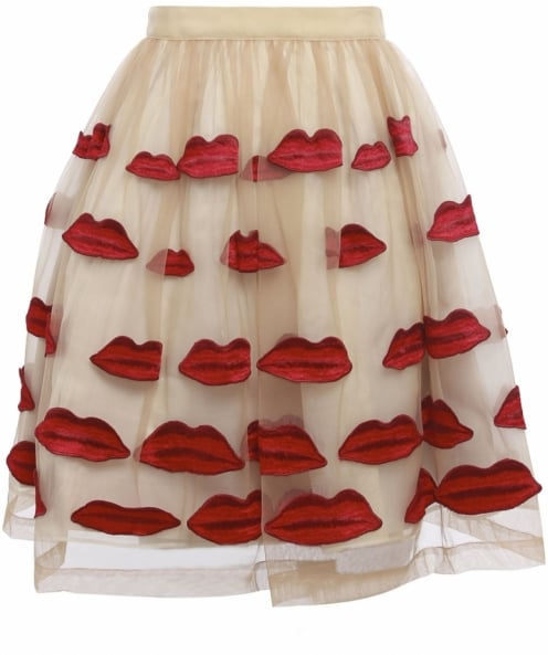 Alice and Olivia Pout Skirt