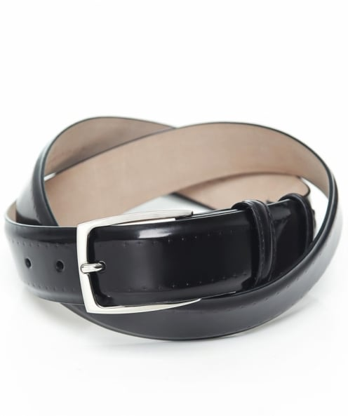 Elliot Rhodes High-Shine Cordovan Leather Belt