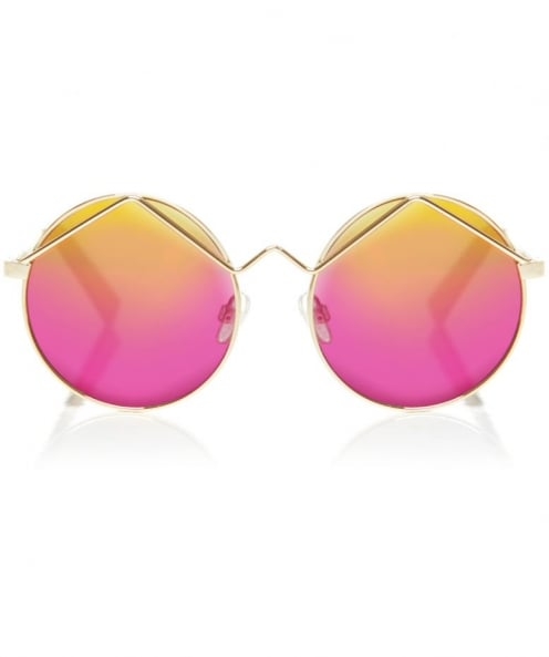 Le Specs Wild Child Metal Sunglasses
