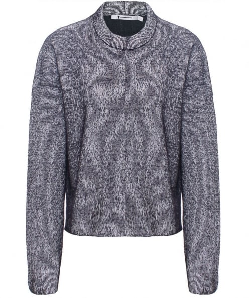 T by Alexander Wang Plaited Structured Jumper