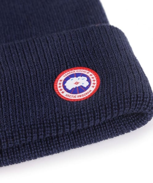 Canada Goose Merino Wool Watch Beanie Hat available at Jules B 48e1b6f4674d