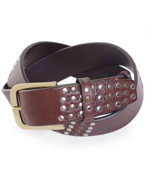 Elliot Rhodes Leather Studded Belt