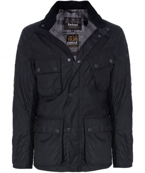 Barbour International Wax Raceway Jacket
