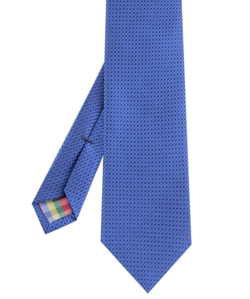 Hemley Textured Silk Square print Tie