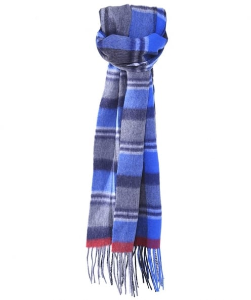 Jules B Checked Wool Scarf