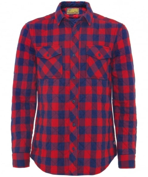Barbour International Check Nitro Overshirt