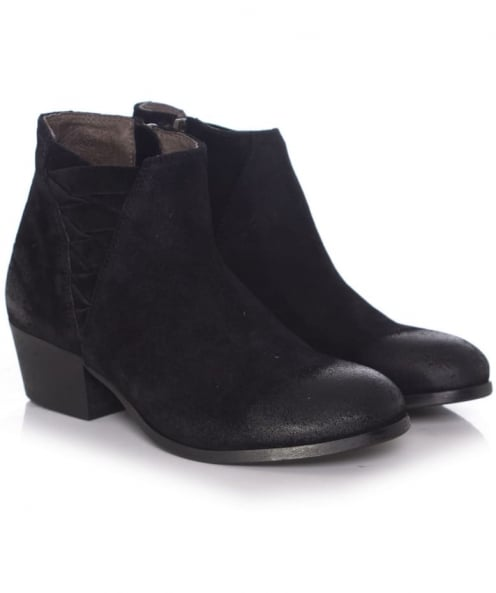 H by Hudson Suede Ankti Boots