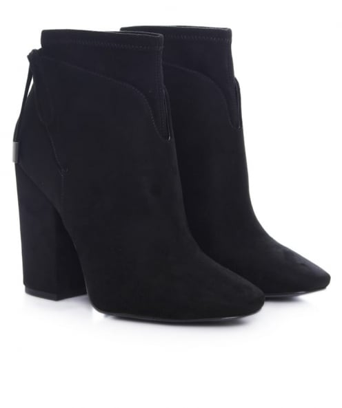 Kendall and Kylie Zola Suede Effect Ankle Boots