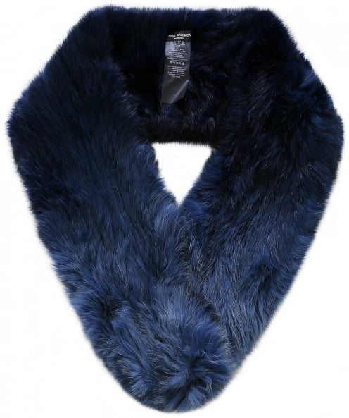 Yves Salomon Ombre Fur Loop Scarf