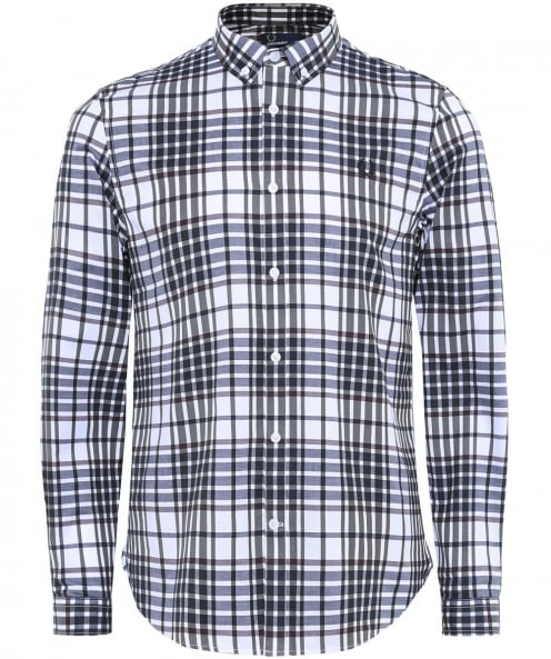 Fred Perry Twill Woven Check Shirt
