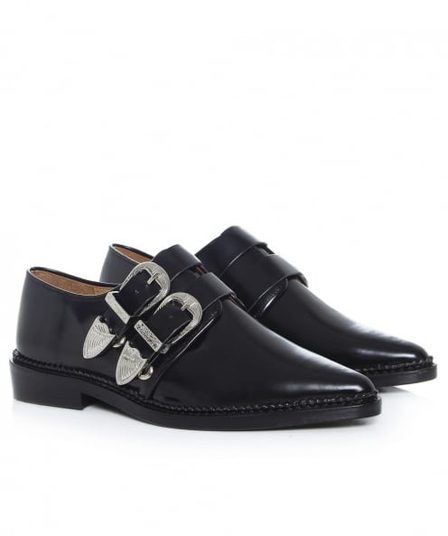 Toga Pulla Polished Leather Loafers