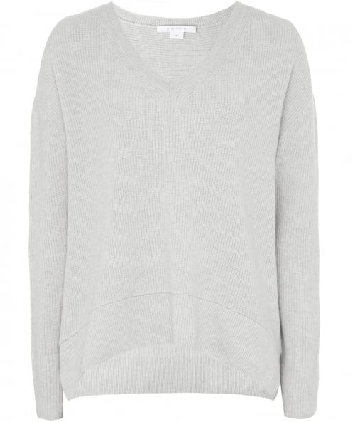 Duffy Cashmere Box Fit V-Neck Jumper