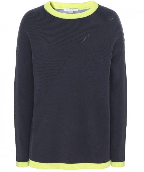 Duffy Sporty Two-Tone Jumper